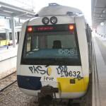 Trenes FEVE estacion Gijon 1