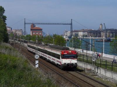 Tren Cercanias San Sebastian