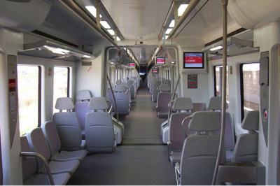 Asientos Cercanias Tren