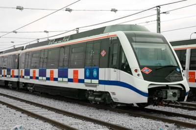vagon metro madrid