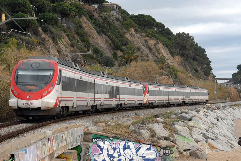 Image result for tren de cercanias