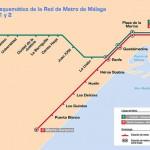 plano metro Málaga