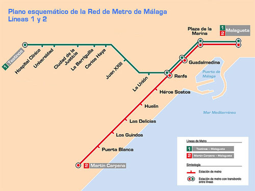 Primer viaje público del Metro de Málaga : Vivir el Tren