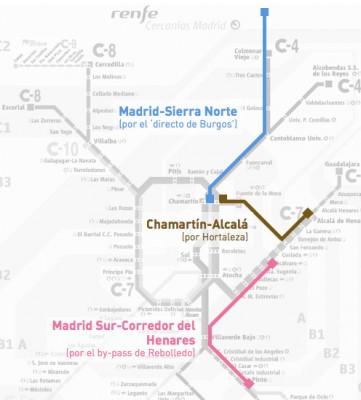 nuevas líneas Cercanías Madrid