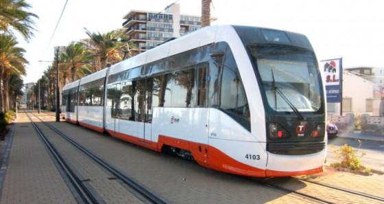 tren TRAM Alicante