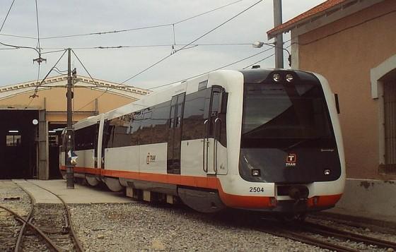 Automotor TRAM Alicante