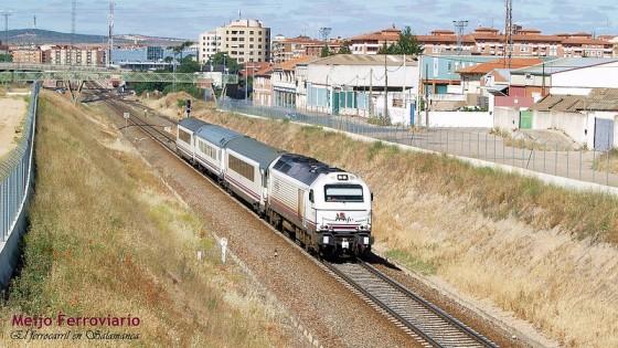 último tren Iberia Salamanca