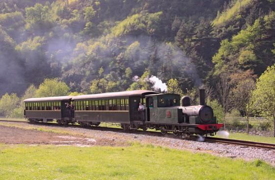 En el Museo Vasco del Ferrocarril de Azpeitia comienza a circular el tren de vapor