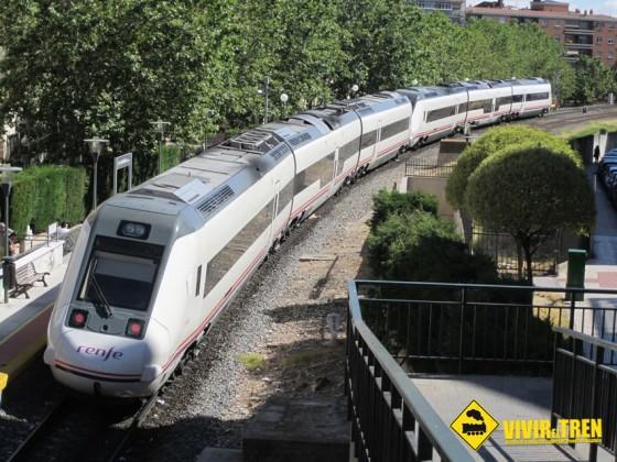 Galería de imágenes en la estación de La Alamedilla en Salamanca
