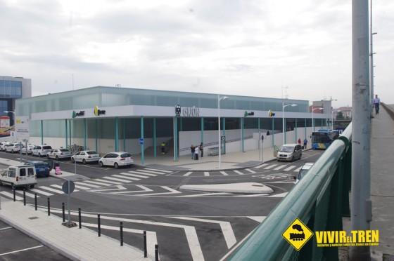 Fomento reforzará la seguridad en la estación provisional de ferrocarril de Gijón