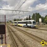 tren FEVE Oviedo Gijon