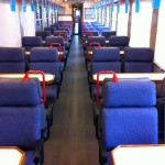 Interior Tren de Madera