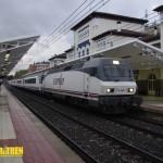 Tren ARCO estacion Vitoria