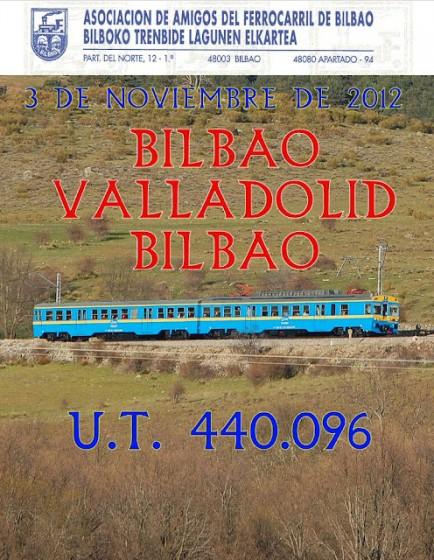 Tren turístico Bilbao Valladolid