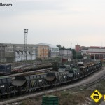 Vagones FEVE deposito Santander