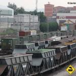 Vagones mercancias FEVE Santander