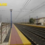 vías estación Araia