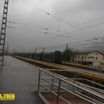 vagones mercancias estación Araia