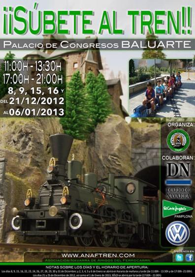 Exposición navideña de la Asociación Navarra de Amigos del Ferrocarril (ANAF)