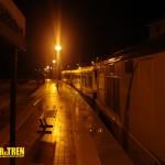 Tren Estrella del Cantábrico nocturno