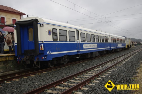 Tren Estrella del Cantabrico