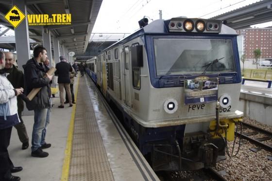 Tren Estrella del Cantabrico Gijon
