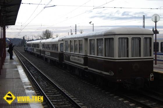 Tren Historico FEVE