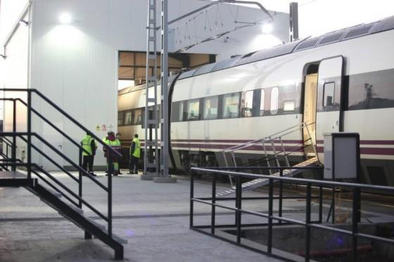 Descarrila un tren ALVIA en el intercambiador de Valdestillas (Valladolid)