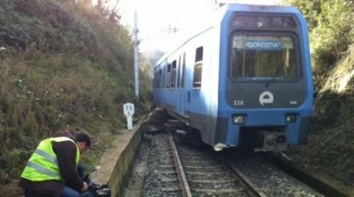 Descarrilamiento Euskotren