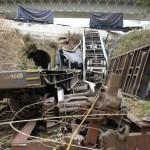 Descarrilamiento tren mercancías