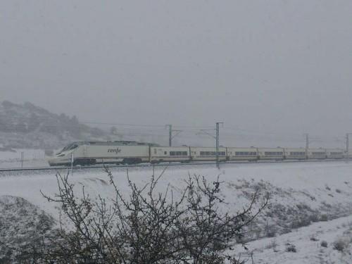 Tren nieve