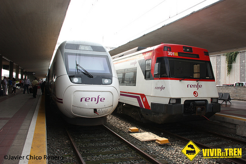 Renfe modifica la oferta de clases de los trenes alvia s for Oficinas de renfe en madrid