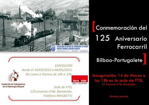125 Aniversario del Ferrocarril Bilbao – Portugalete