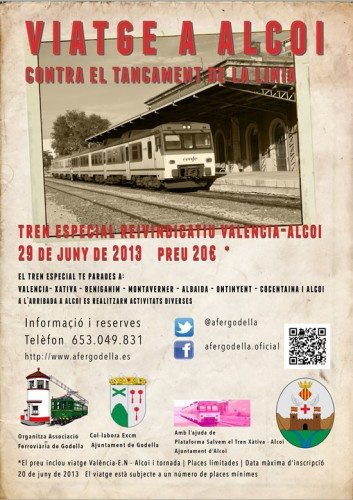 Tren especial Alcoi