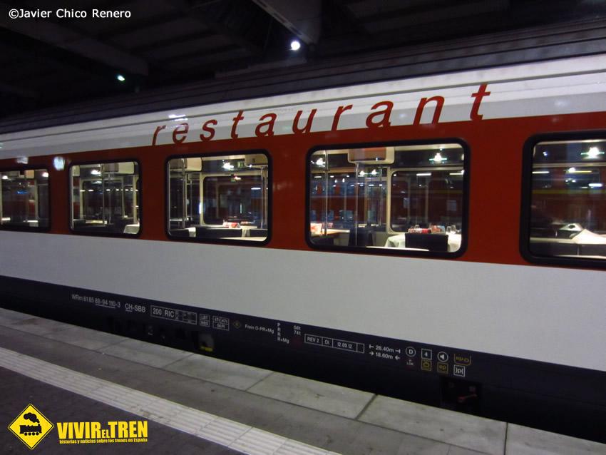 Vagón restaurante vivir el tren historias de trenes