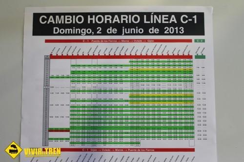 RENFE reajusta los horarios en todas las líneas de Cercanías Asturias