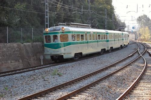 Un tren histórico de FGC circulará durante el fin de semana con motivo del 150 Aniversario del Ferrocarril de Sarrià