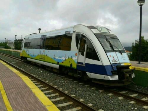 """Temporada 2013 del tren turístico """"Ruta de los Faros"""" entre Ferrol y Ribadeo"""