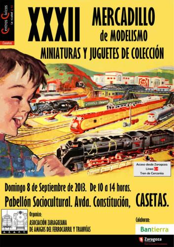 Mercadillo de modelismo, miniaturas y juegos de colección en Zaragoza