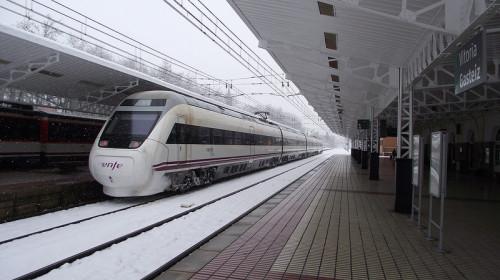 Tren nieve Adif