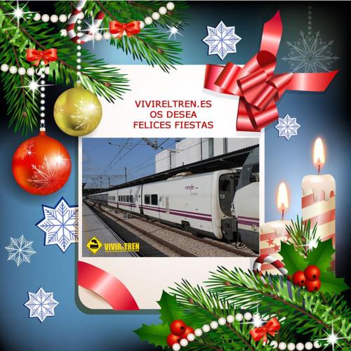 Felicitación navideña VivirElTren