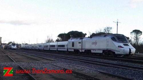 Fallece una persona en Toro al ser arrollado su coche por un tren Alvia