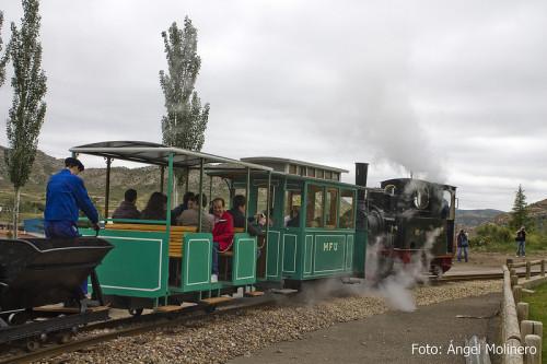 El tren turístico minero de Utrillas tendrá una longitud de 1km en 2014