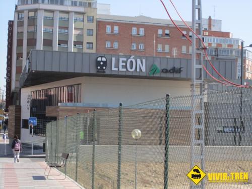 Obras Adif Ave Leon