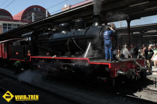 El Museo Vasco del Ferrocarril organiza un curso de iniciación a la tracción vapor