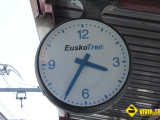 Reloj Euskotren