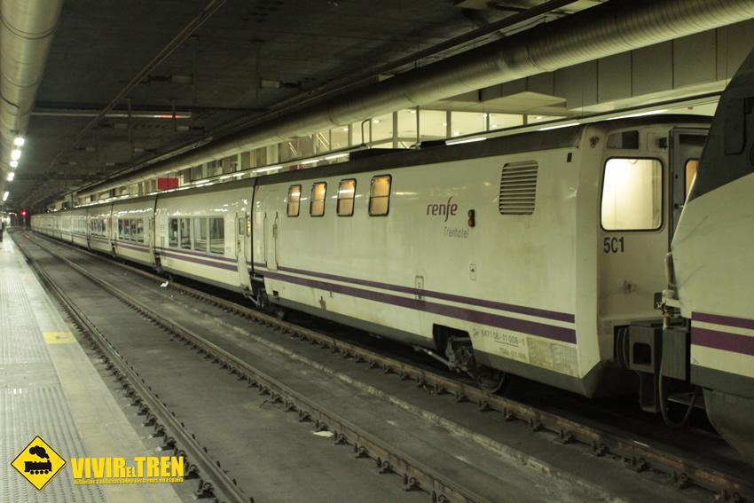 Primer viaje del train breakfast barcelona sevilla for Barcelona paris tren hotel
