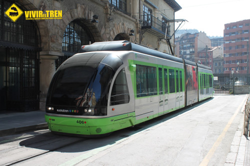 Información y fotos del Tranvía de Bilbao