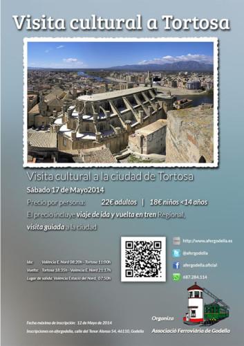 La Asociación Ferroviaria de Godella realizará una visita cultural en tren a Tortosa