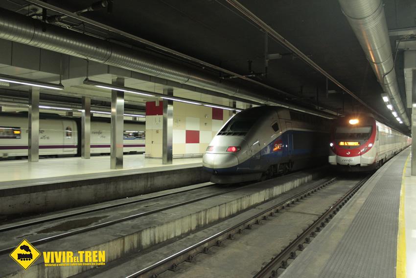 Renfe y sncf incorporan un cuarto tren tgv entre barcelona for Trenhotel de barcelona a paris